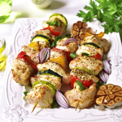 Pepper & Lime Chicken Kebabs