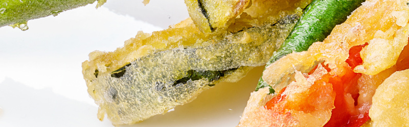 Vegetable Tempura with Lime Dipping Sauce