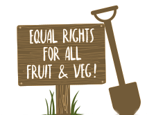 equal rights for all fruit and veg